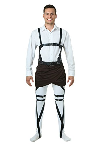 Fun Costumes Mens Attack On Titan Male Harness Large/x-large