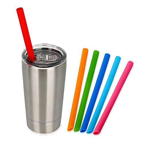 Housavvy Toddler Tumbler with Lid and Straw, Double Wall