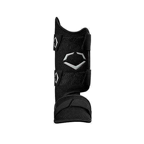 EvoShield PRO-SRZ Batter's Leg Guard, Black - Right-Handed Hitter (Best Right Handed Hitters)