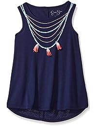 Big Girls' Miki Dip Dye Necklace Tee