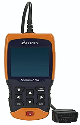 Actron CP9680 AUTOSCANNER Plus OBD II/ABS/Airbag Scan Tool with Color Scree