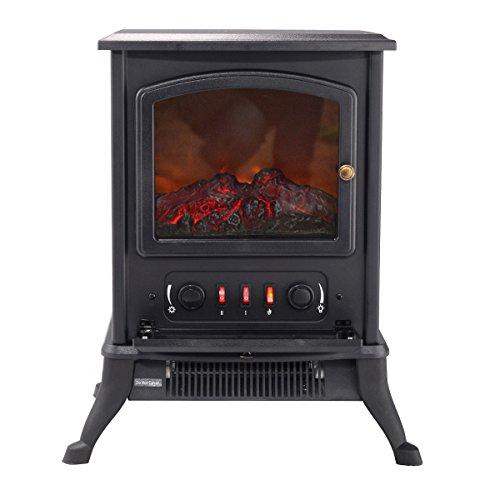 Giantex 1000w Fireplace Metal Electric Quartz Tube Heater
