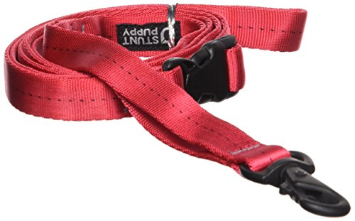 Stunt Puppy Everyday Dog Leash, Small, Red
