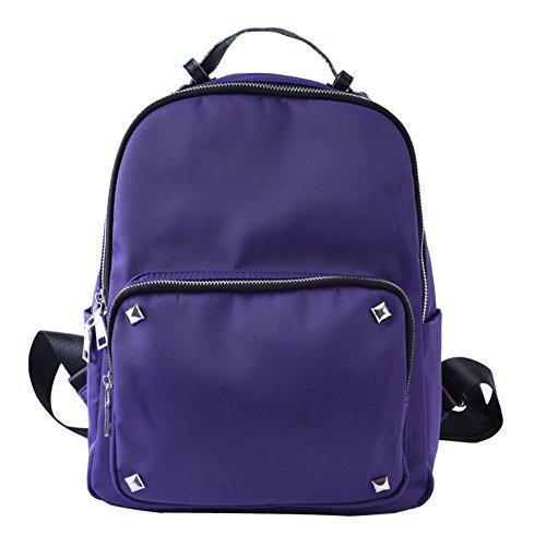 La Sra mochila/Bolso casual/bolsa de viento de la universidad-C D