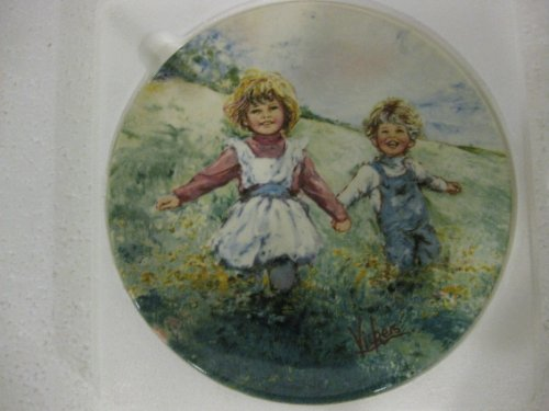 (My Memories Playtime by Mary Vickers Collector Plate)