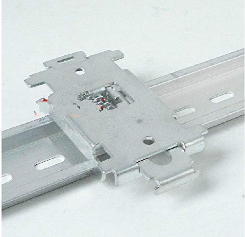 Davitu single phase SSR 35MM DIN rail fixed solid state relay clip clamp with 2 mounting screws