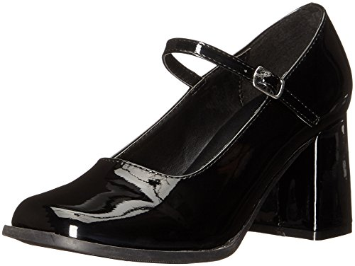 Womens Mary Jane Shoes with 3 Inch Heel, sz. 8]()