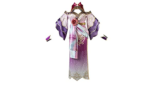 Amazon Com Aglayoupin Adult Womens Diao Chan Cosplay Costume Dress Clothing