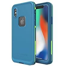 Lifeproof FRĒ SERIES Waterproof Case for iPhone X (ONLY) - Retail Packaging - BANZAI (COWABUNGA/WAVE CRASH/LONGBOARD)