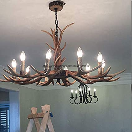 Amazon.com: 6/8/10 - Lámpara de araña LED con forma de ángel ...