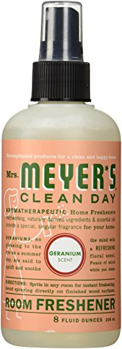 Mrs. Meyer's Clean Day Room Freshener - Geranium - 8 oz - 2 pk