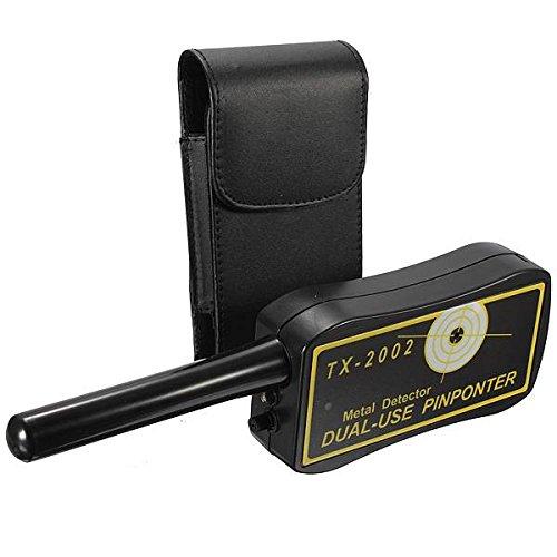 ELEGIANT Handheld Pro-Pointer Pinpointer Metalldetektor TX 2002 Dual use LED Metallsuchgerät Metalldetektor OVP Sonde Pinpointer mit Tasche