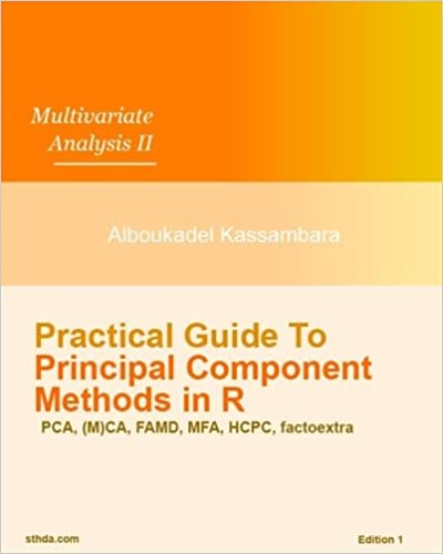 Mr Alboukadel Kassambara - Practical Guide To Principal Component Methods In R: Volume 2