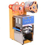 Sanvn 400w Full Automatic Cup Sealing Machine Bubble Cup Sealer with LED Display Tea Coffee