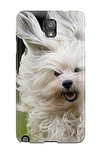 New Design Shatterproof AHMNink627jWLVD Case For Galaxy Note 3 (shaggy Dog Running)