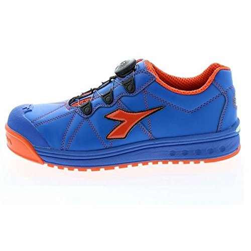(セーフティシューズ DIADORA ディアドラ) FINCH(フィンチ) FC-474 (カラー) ブルー/オレンジ/ブルー (サイズ)25cm EEE B077JG74HY