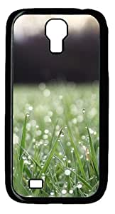 Cool Painting Samsung Galaxy I9500 Cases & Covers -Grass water drop Polycarbonate Hard Case Back Cover for Samsung Galaxy S4/I9500