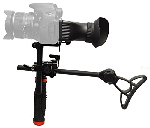 UPC 813789016274, Opteka CXS-700 2-in-1 Shoulder Rig and Handgrip with 3x Viewfinder Hood for Digital SLR Cameras
