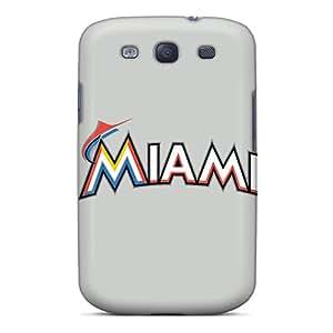 Cute Tpu Kristty Baseball Miami Marlins 2 Case Cover For Galaxy S3
