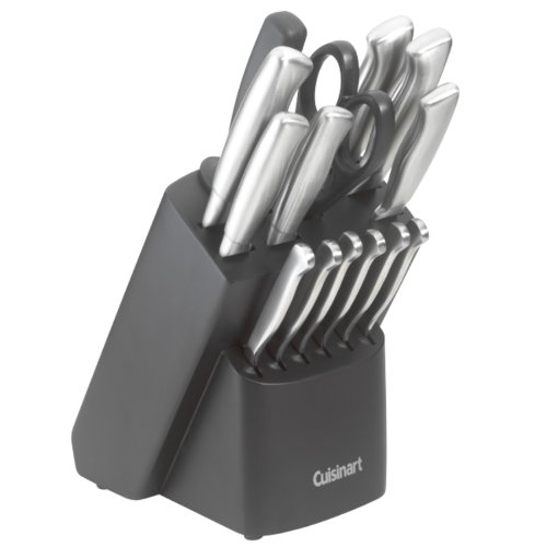 Cuisinart Kitchen 17 Piece Stainless Steel Cutlery
