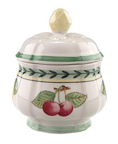 Villeroy & Boch French Garden Fleurence Covered Sugar