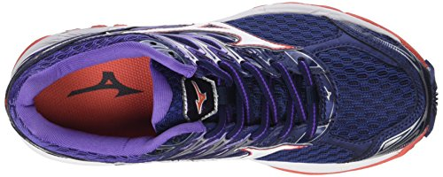 WOS Multicolor Women's 02 Hotcoral Shoes White Running Paradox 4 Wave Mizuno Patriotblue 1Axgq6I1
