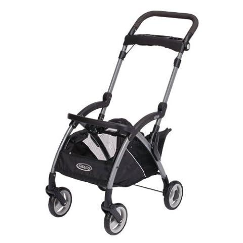 Premium Baby Stroller for Car Seat Pram Travel System Graco Lightweight in Modern Style - Graco Snugrider Infant Car Seat Stroller Frame