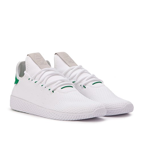 Adidas x Pharell Tennis HU Schuhe Herren BY2674 Weiß Grün