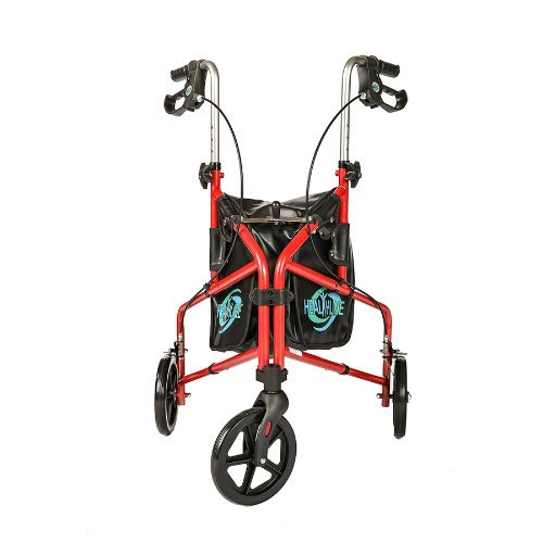 3 wheel rollator with seat - 3
