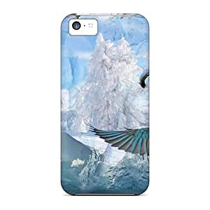Snap On Case Cover Skin For Iphone 5c(winter Impressions)