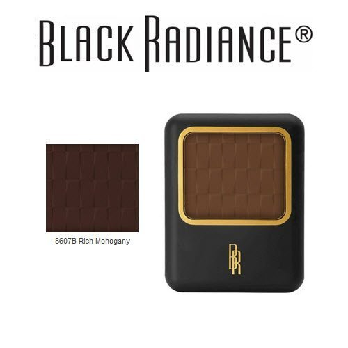 2-Pack Black Radiance Pressed Powder 8607B Rich Mahogany free shipping YvYiTSiU