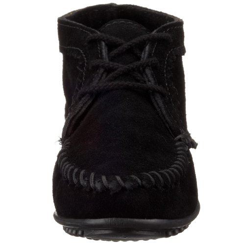 Suede Black Women's Boot Minnetonka Ankle wxYq8XR84