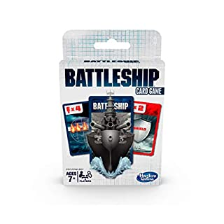 Hasbro Gaming Battleship Card Game for Kids Ages 7 and Up, 2 Players Strategy Game