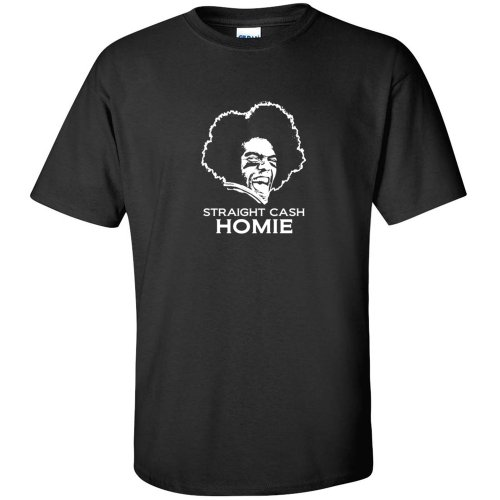 Randy Moss Straight Cash Homie FUNNY football MENS T-SHIRT Black XL