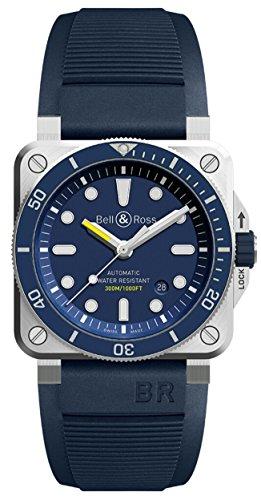Bell & Ross Blue Diver BR03-92 Diver Blue ()