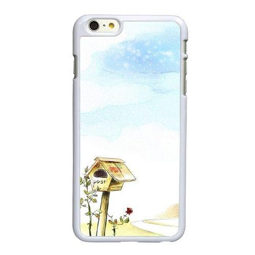 T2V28 d art numérique E0J7VU coque iPhone 6 Plus de 5,5 pouces cas de couverture de téléphone portable coque blanche FR5HDG2EN