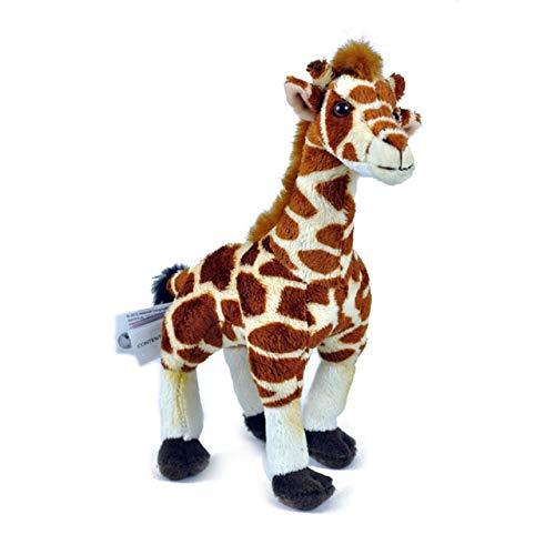 EOFK 6Style Africa Wildlife Zebra Elephant Crocodile Hippo Simulation Lifelike Flamingo Stuffed Plush Toy Holiday Must Haves Gift Ideas Toddler Favourite Superhero Cupcake Toppers UNbox Dolls