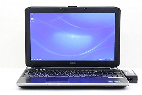 【中古】 DELL Latitude E5530 Core i5 3320M 2.6GHz/8GB/500GB/Multi/15.6W/FHD(1920x1080)/Win7 B076V2MXXV