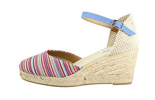 PASOS A IN HECHO MADE ALPARGATUS ARTESANALES Donna Espadrillas SPAIN MANO HxCfwwdEtq