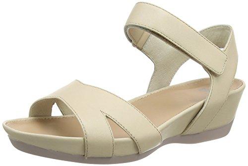 Camper Mujeres Micro Sandal Platform Sandalia Medium Beige