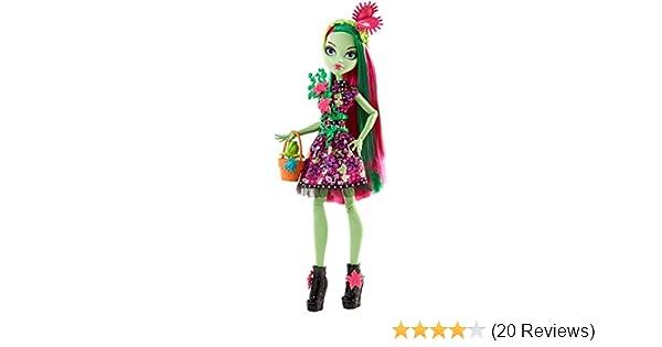 c1f36c087d2 Amazon.com: Monster High Venus McFlytrap Doll: Toys & Games
