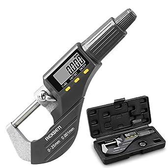 Amazon.com: Micrómetro digital, herramienta de medición de ...