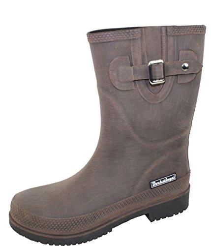 Mujer europea Standard Botas brown lado Logotipo para moda JETTE cortos K KB la marca goma de de black de Hebilla Acogedor KB del BOCKSTIEGEL® Producción qRzIwx