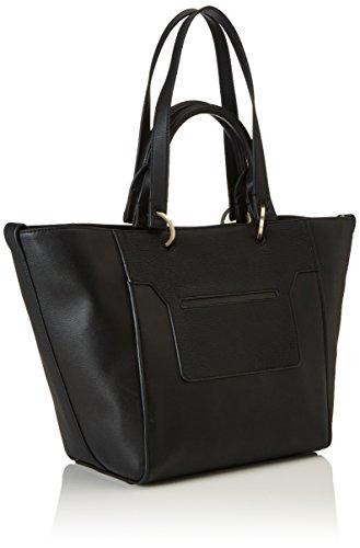 Calvin Klein - Le4 Large Tote, Bolsos totes Mujer, Schwarz (Black), 23x28x40 cm (W x H D)