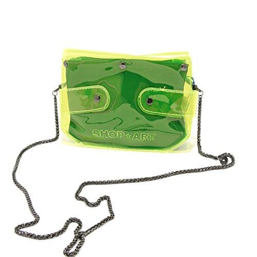 Borsetta Pochette Art Borsa 8445g Bag Donna Gialla Giallo Women Accessori Shop Tracolla IY6a6x