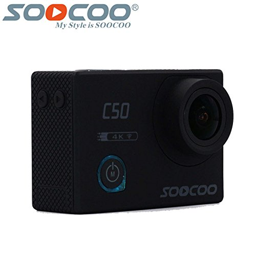 Eptek @ soocoo C50 Sport Action Kamera Wifi 4 K Gyro Verstellbare Betrachtungswinkel ntk96660 30 m Wasserdicht Sport DV