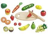 howa - Fruits et Lègumes a Découper en bois 4867