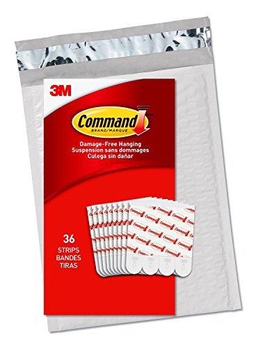 Command Medium Refill, White, 36-Strips (GP021-36NA) - Easy to Open Packaging
