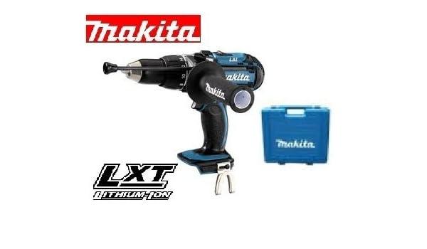 MAKITA LXT BHP451 - Taladro combinado y caja de transporte (18 V ...