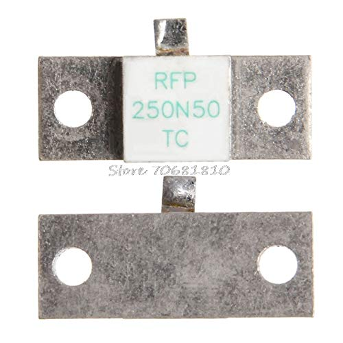 KIMME 1Pc RF Termination Microwave Resistor Dummy Load RFP 250N50 250W 50ohms DC-3GHz Drop Ship